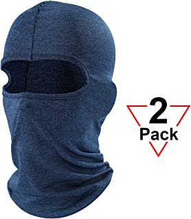 AXBXCX Balaclava Full Face Mask Windproof Neck Cover Hood for Outdoor Sport