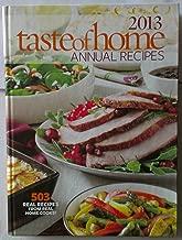 2013 Taste of Home Annual Recipes