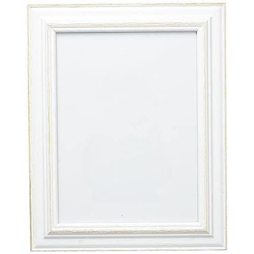 Deknudt Frames - S221H1 - Basic Cadre Photo - Blanc/Beige - 15 x 20 cm