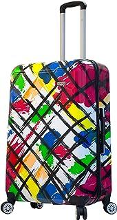 Viaggi Mia Viaggi Italy Pop Brush Hardside 28 Inch Spinner, Multi-Colored (Multi) - V1052-28IN-PBSN