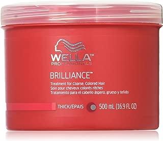 Wella Brilliance Treatment for Coarse Colored Hair, 16.9 Ounce