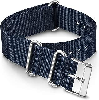 Timex TW7C63200 20mm Blue Fabric Double-Layered Slip-Thru Strap