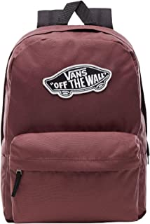 bf535ef9c97 Vans Realm Backpack Mochila Tipo Casual, 42 cm, 22 Liters, Rojo (Catawba