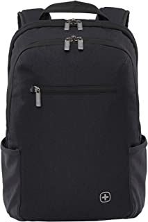 """Wenger Luggage Cityfriend 16"""" Laptop Backpack, Black, One Size"""