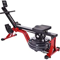 Stamina X Compact Rowing Machine with Heart Rate Transmitter and Multi-Function Monitor