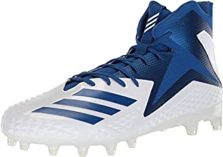 Men's Freak X Carbon Mid Football Shoe, White Collegiate Royal, 9.5 M US