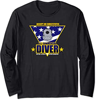 US Commercial Diver Long Sleeve T-Shirt