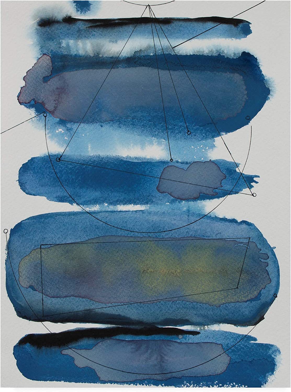 Trademark Fine Art Storm Constellation I by Rob Delamater, 14x19