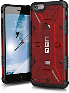 UAG iPhone 6 Plus / iPhone 6s [5.5-inch screen] Plus Feather-Light Composite [MAGMA] Military Drop Tested iPhone Case