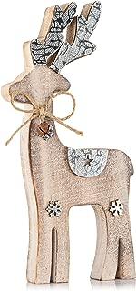 Zilo Novelties Reindeer Decor   Holiday Display Set for Mantle, Centerpiece or Table (Medium)