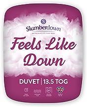 Slumberdown Feels Like Down Dekbed, microvezel, wit, King Size