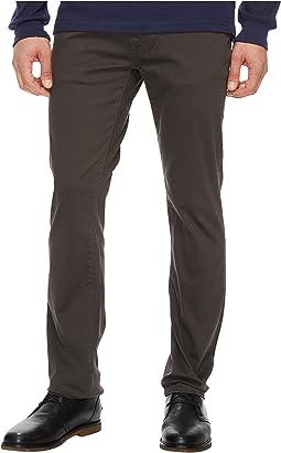 Five-Pocket Slim Straight Stretch Bedford Corduroy Pants