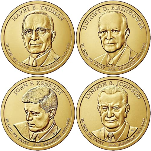 2007-2016 ONE CASE NEW 36-US PRESIDENTIAL $1 ONE DOLLAR COINS COLLECTOR/'S ALBUM