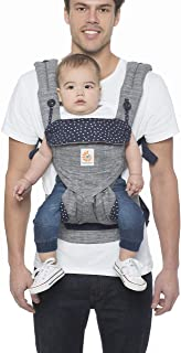Ergobaby 360 Baby Carrier for Toddler, 4-Position Ergonomic Child Carrier and Backpack, Star Dust