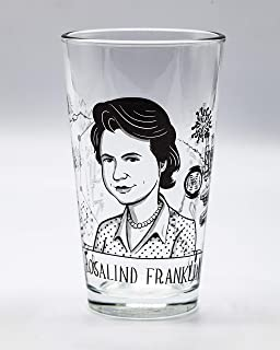 Cognitive Surplus Heroes of Science: Rosalind Franklin Pint Glass
