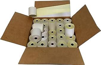 "3"" x 95' 2-PLY CARBONLESS BOND PoS RECEIPT PAPER - 50 ROLLS"