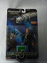 Babylon 5 Chief Security Officer Michael Garibaldi 6in Figure w/ Earth Alliance Atmospheric Shuttle