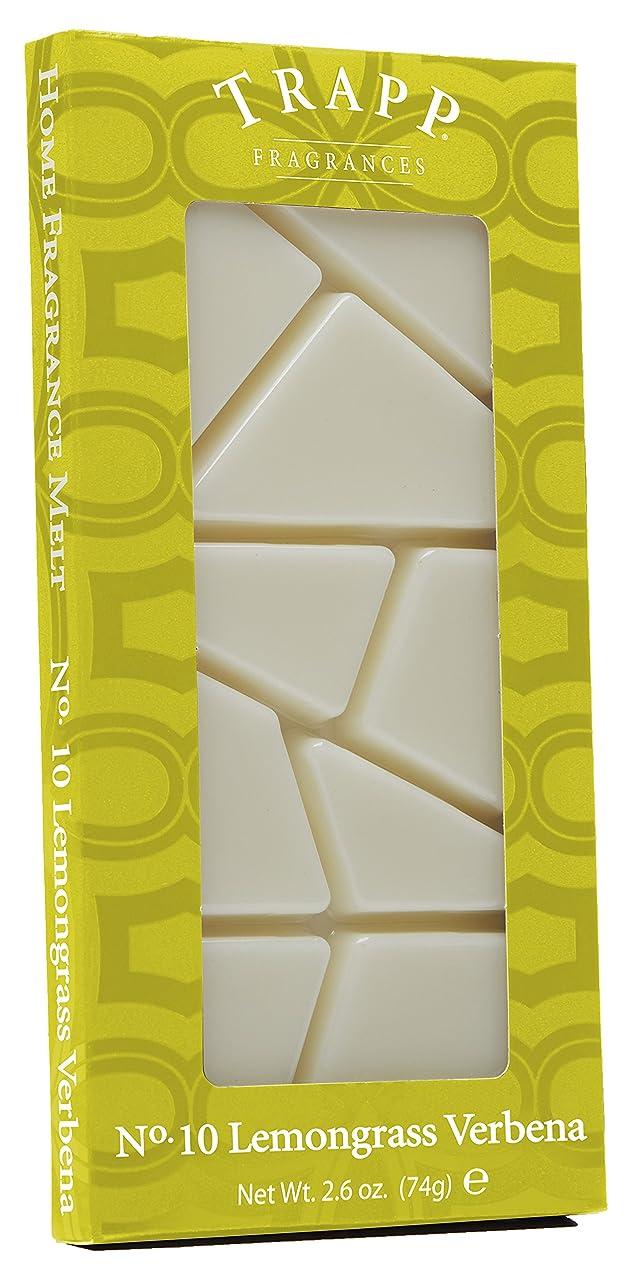 Trapp Candles Home Fragrance Melt, No. 10 Lemongrass Verbena, 2.6-Ounce