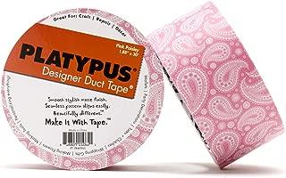 Platypus Designer Duct Tape, Pink Paisley
