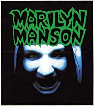 Marilyn Manson Sticker ‎1994 Portrait Of An American Family Vinyl Promo