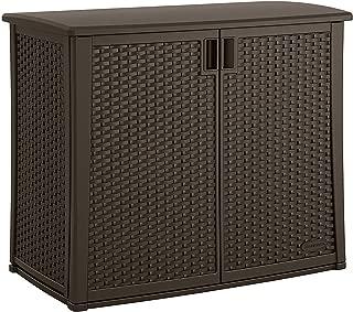 Best outdoor wicker storage cabinet Reviews