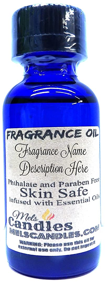Fairy Dust- 1 Ounce / 29.5ML Blue Glass Bottle of Premium Grade Skin Safe Fragrance Oil