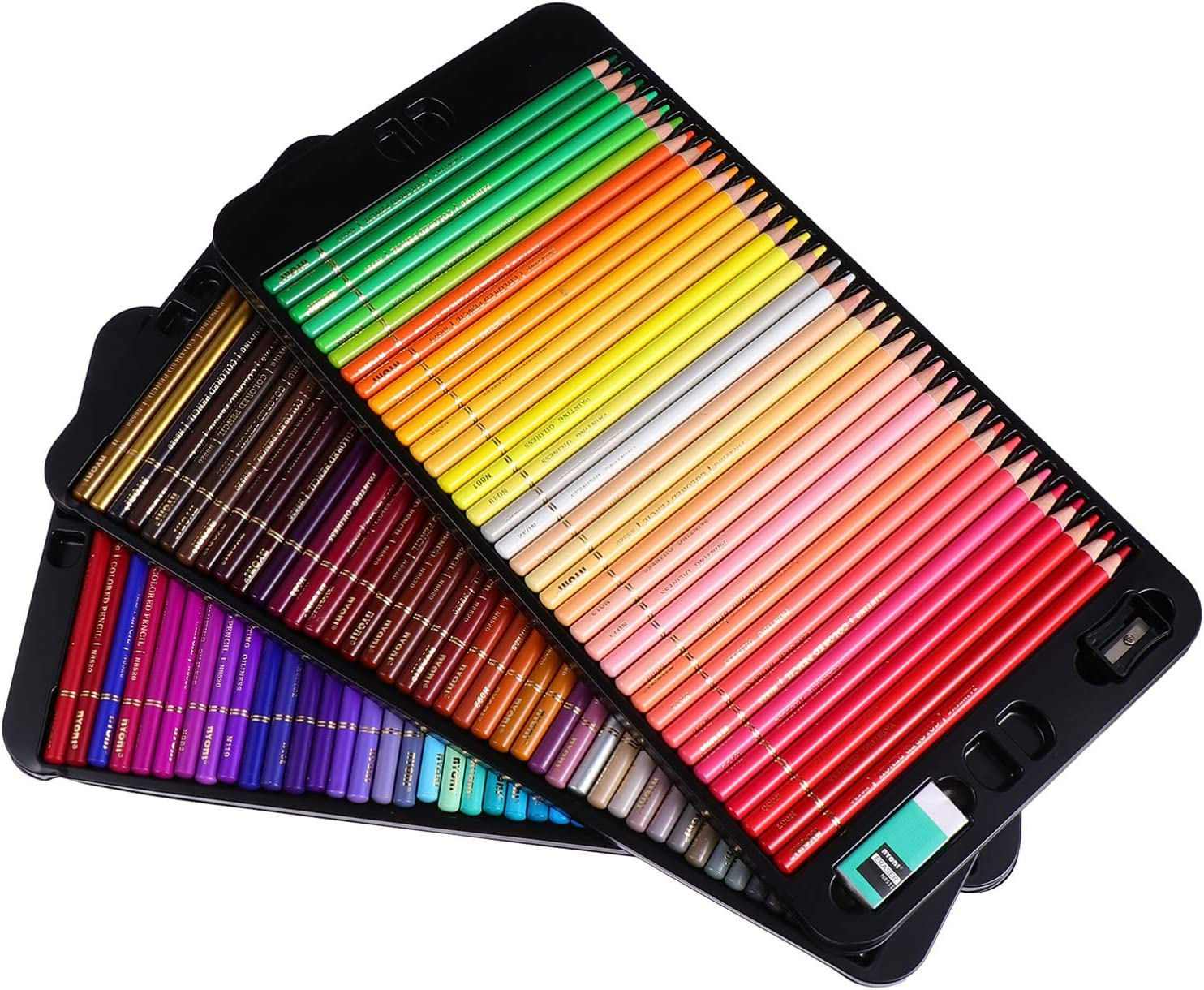 Max 80% OFF NUOBESTY Colored Paint Pencils Ranking TOP11 Set Pencil Sketching 120