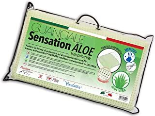 V.I.P. Very Important Pillow Cojín, Jabón con perforación Pasador, viscolattice Memory con Tratamiento Aloe Vera