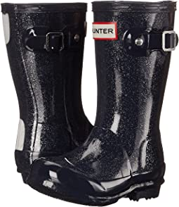 Hunter Kids - Original Kids' Glitter Finish Wellington Rain Boots (Toddler/Little Kid)