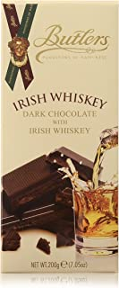 Butlers Dark Chocolate Bar Infused With Real Irish Whiskey 200g