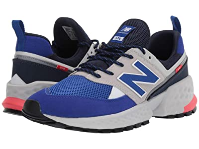New Balance Classics 574 Sport (Munsell White/UV Blue) Men