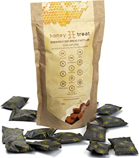 BEE Bread Chewable Pastilles by Honey Treat - Fermented Mixture of Bee Pollen - Organic Immune Support - Source of Amino a...