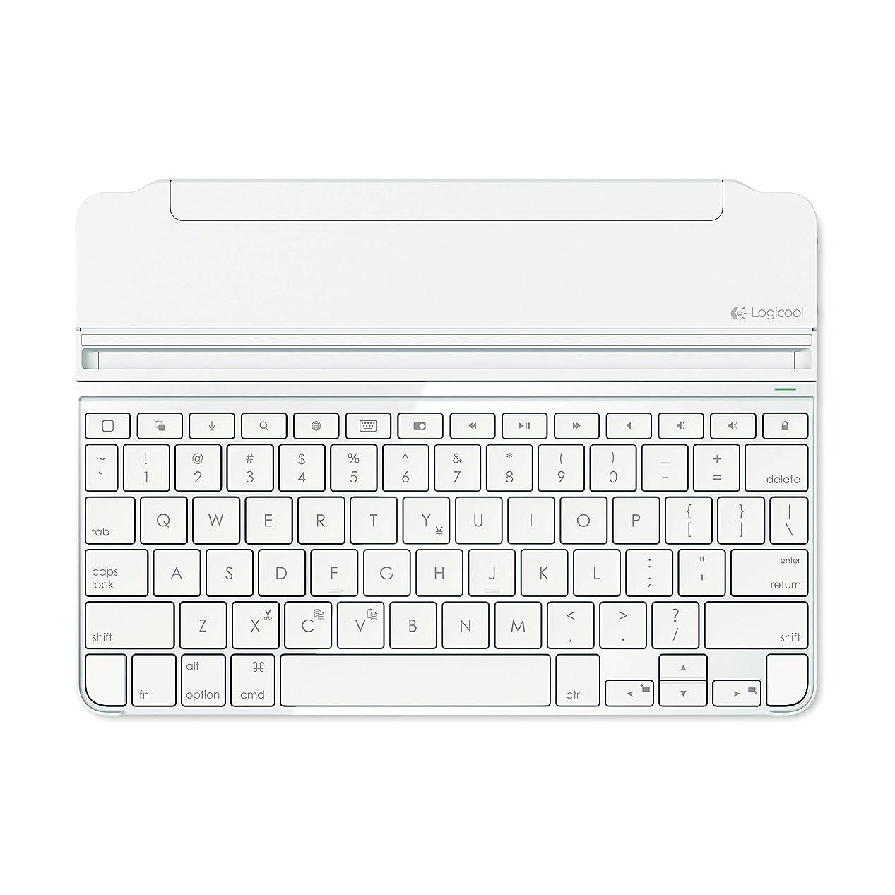 不正確項目乱気流LOGICOOL ウルトラスリム マグネットクリップ キーボードカバー for iPad Air 2 シルバー iK1061SV