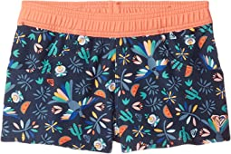 Roxy Kids - Birdy Boardshorts Corolle (Toddler/Little Kids)
