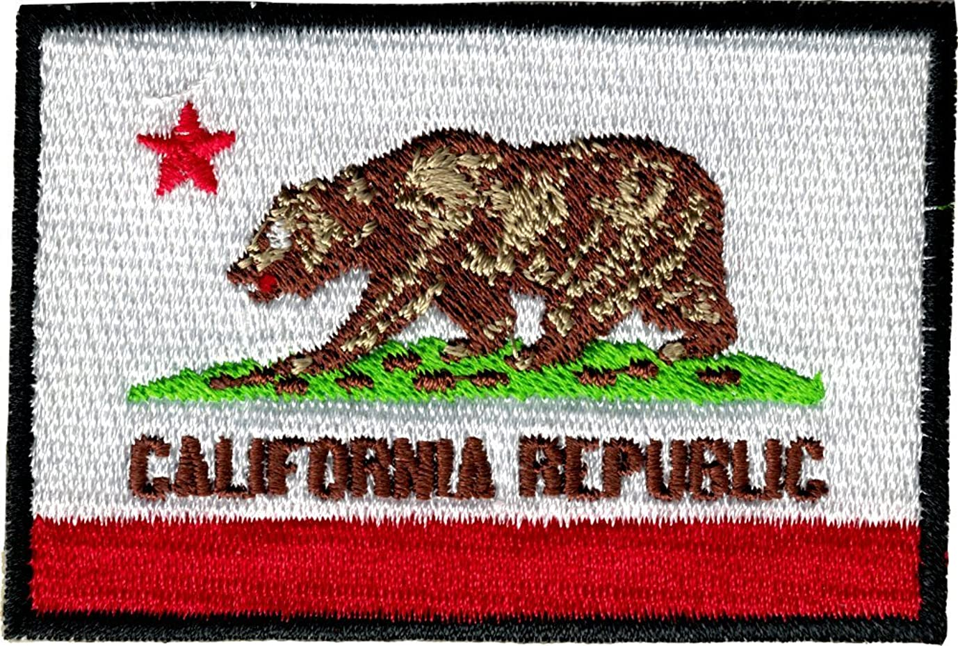 California State Flag Sew Iron On Patch / Applique jsvuyw0747