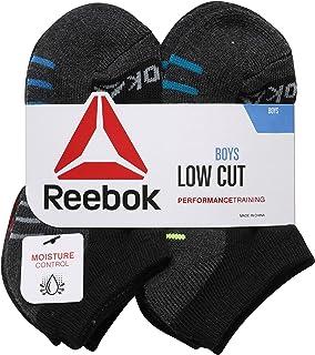 Reebok Boy's 12 Pack Low Cut Basic Socks