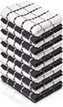 KUULE- Kitchen Towels, 100% Soft NARURAL Cotton, (12 Pack)- Tea Towel Great for Any Kitchen DISHCOLOTHS & Household Cleani...