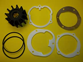 RPS Water Pump Impeller for Johnson 09-1027B, Volvo Penta 3.0, 4.3, 5.0, 5.7 V6 V8 Engines Jabsco 1210-0001 Sierra 18-3081 18-3277 3862281 21213660 21951346 OMC