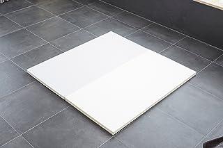 Caraz(カラズ) プレイマット 2段 140×140×4cm クリームグレー