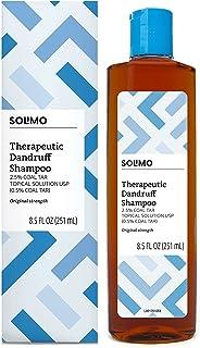 Amazon Brand - Solimo Therapeutic Dandruff Shampoo, Original Strength, 8.5 Fluid Ounces