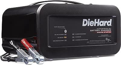 DieHard 71323 12V Shelf Smart Battery Charger and 10/50A Engine Starter