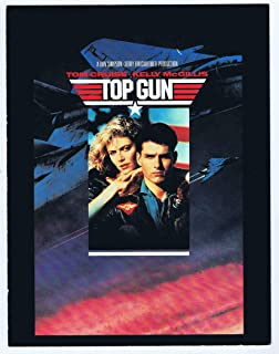 Top Gun Movie Program Souvenir 1986 Paramount Pictures 8 ½ x 11""