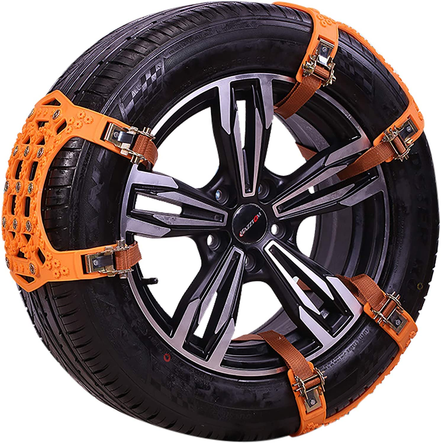 Fishines Columbus Mall 6 Pieces Car Snow Chains Non-Sl TPU Universal Emergency New sales