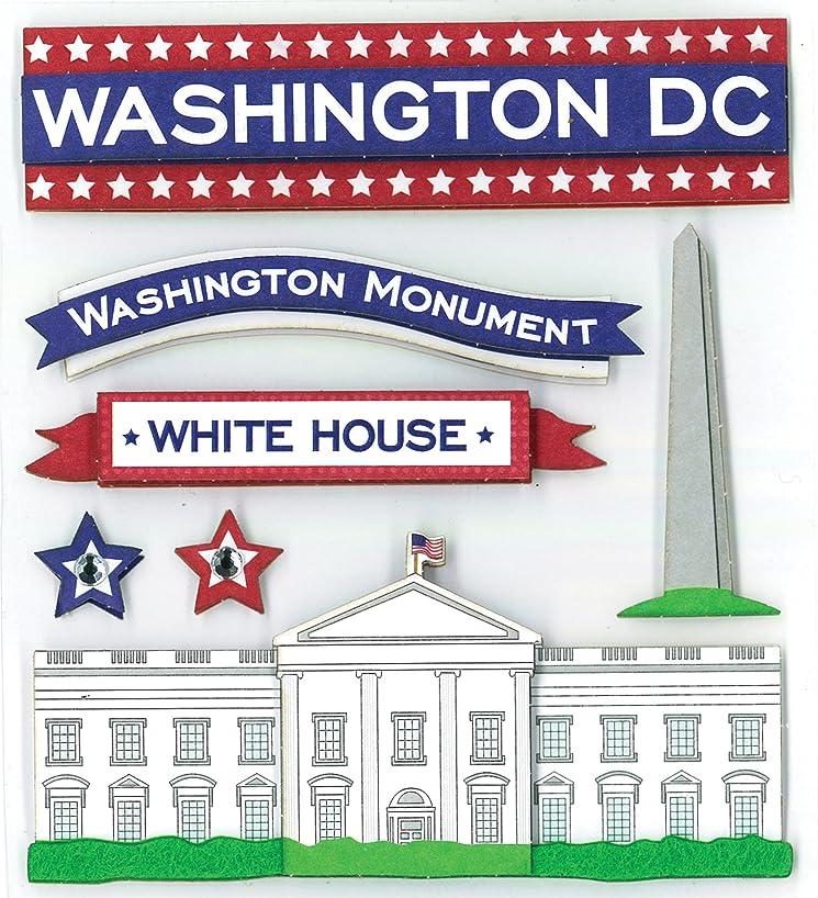 K&Company Washington DC Grand Adhesions Stickers