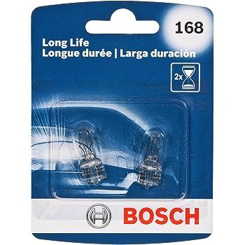 Bosch 168 Long Life Upgrade Minature Bulb, Pack of 2