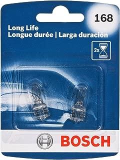 Bosch Automotive 168LL 168 Light Bulb, 2 Pack