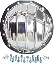 Finned Pol Alum Rearend Differential Cover, GM 8.875 Inch 12 Bolt