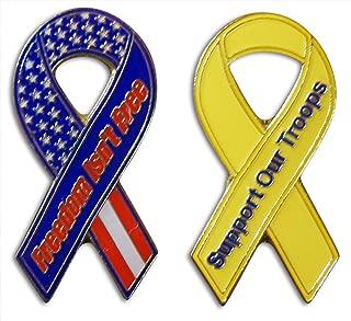 military lapel ribbons