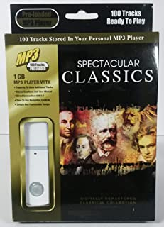Spectacular Classics (PRE-Loaded MP3 Player)