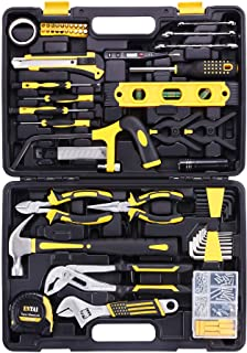 ENTAI 218-Piece Tool Kit for Home, General Household Hand Tool Set with Solid Carrying Tool Box, Home Repair Basic Tool Ki...